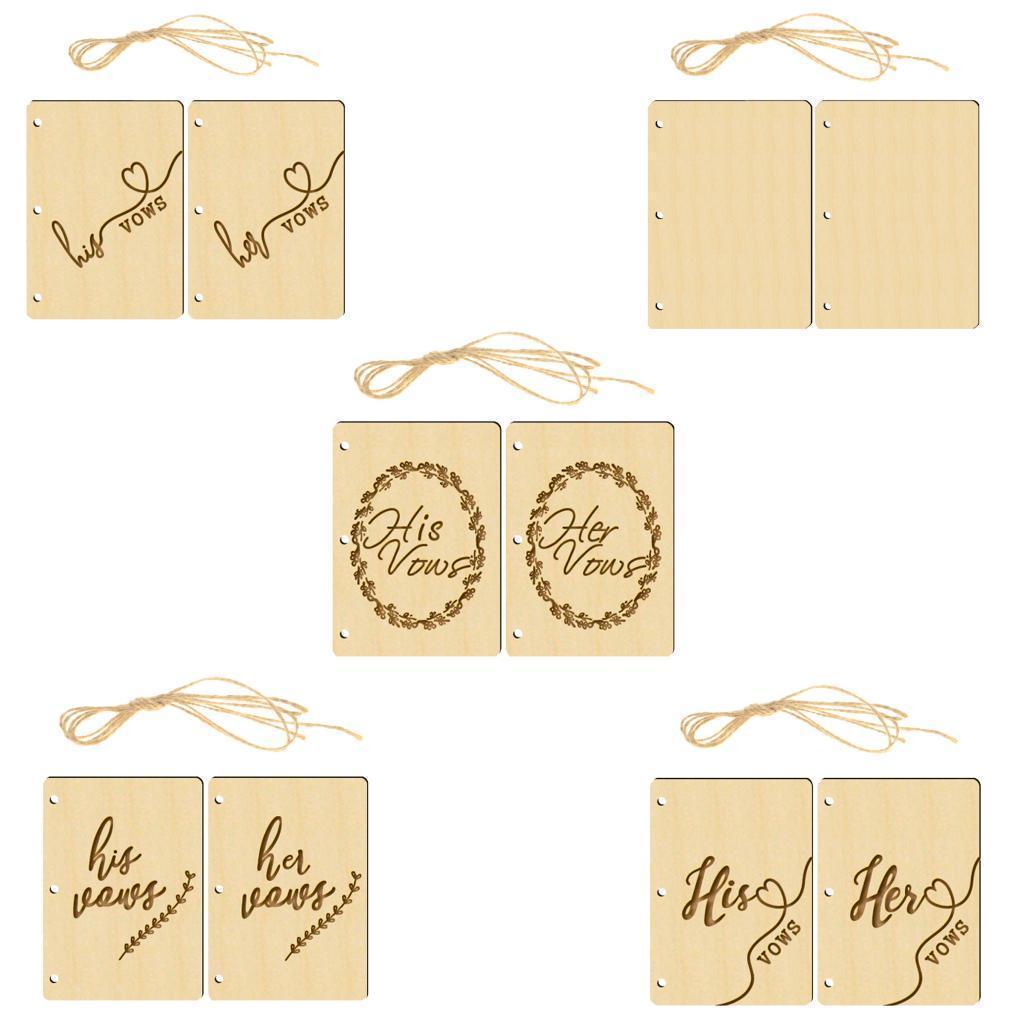 Indexbild 12 - Holz-Stueck-Holz-Tags-Zeichen-Unfinished-Hochzeit-Party-Favor-Geschenke-DIY