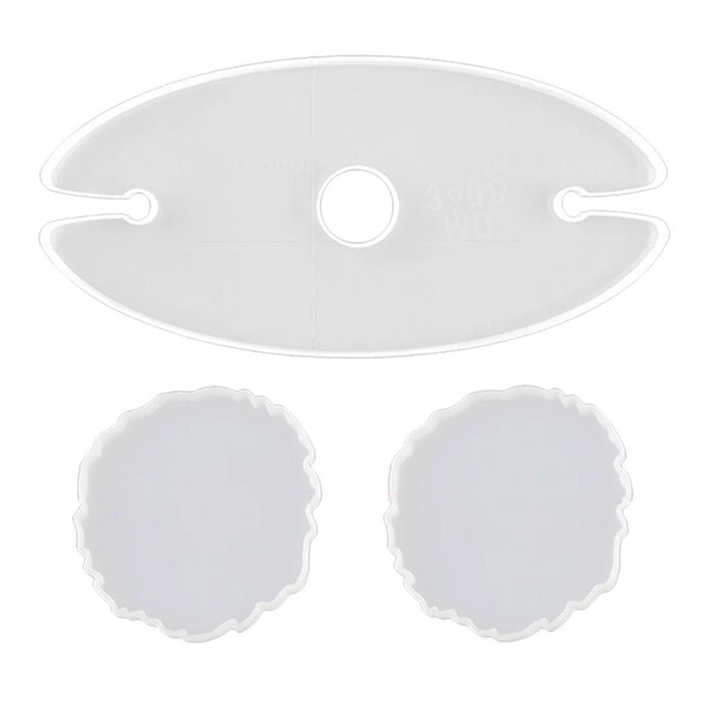 Indexbild 7 - Epoxidharz-Formen-DIY-Untersetzer-Silikonform-DIY-Giessform-fuer-DIY