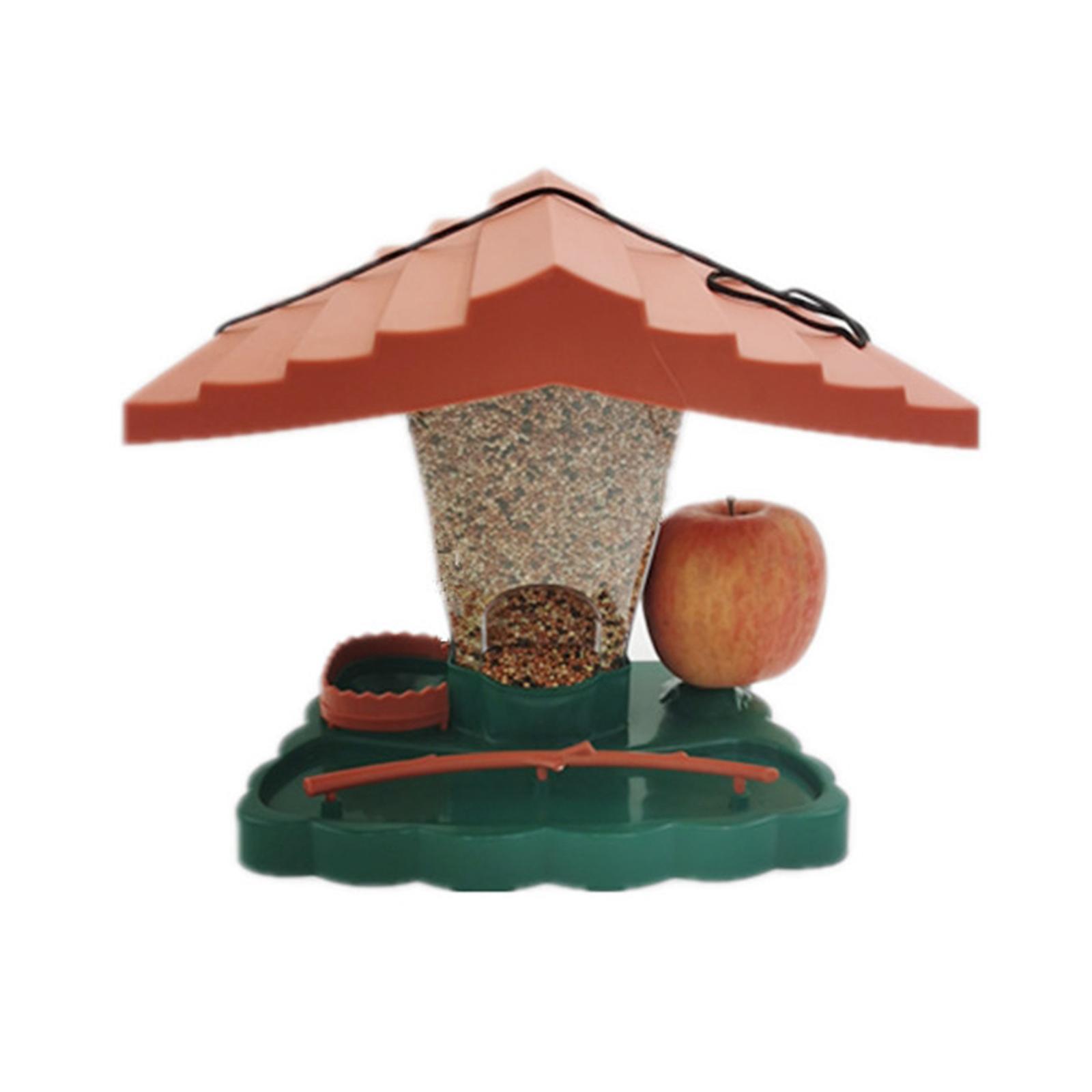 thumbnail 4 - Prime Suspendus Mangeoire pour les Oiseaux Sauvages pour Jardin Cour