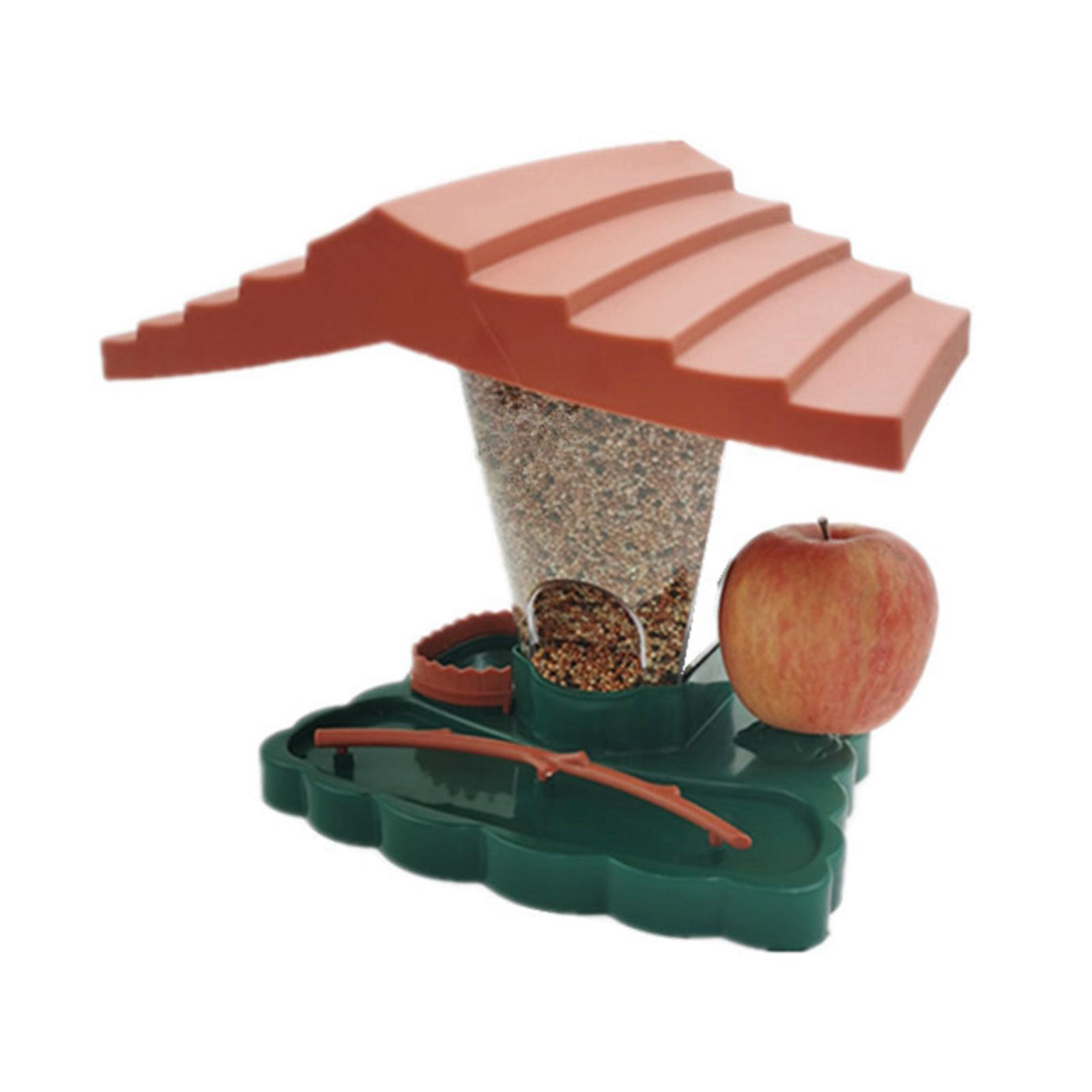 thumbnail 3 - Prime Suspendus Mangeoire pour les Oiseaux Sauvages pour Jardin Cour