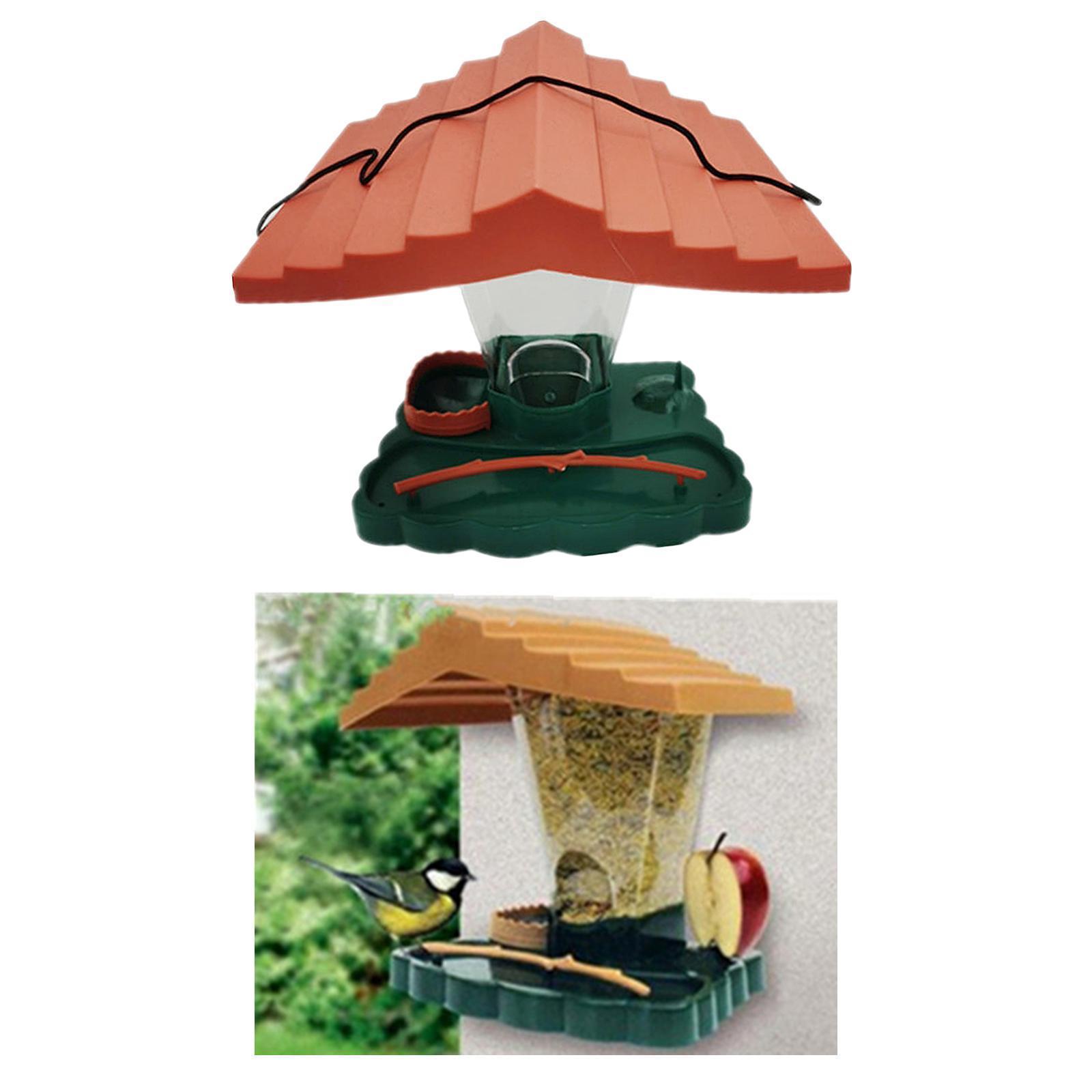 thumbnail 7 - Prime Suspendus Mangeoire pour les Oiseaux Sauvages pour Jardin Cour