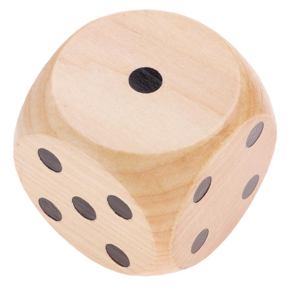 Creative-Wooden-D6-Six-Sided-Dice-5cm-Game-for-RPG-Math-Teaching-Table-Game thumbnail 10