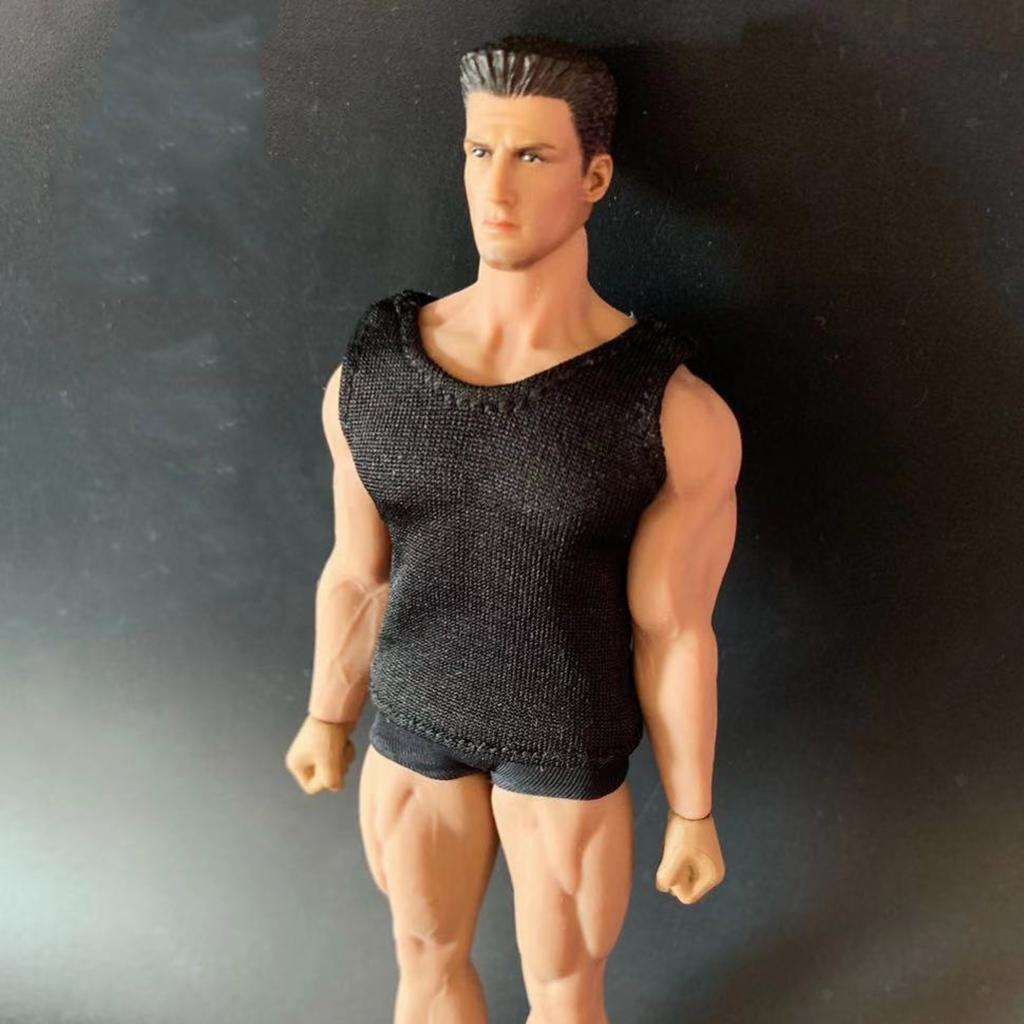 1 pack 1//12 Scale Male Soldier Vest for 6in Action Figure Doll Body Parts