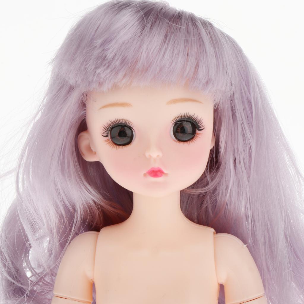 1-6-BJD-Doll-Body-3D-Big-Eyes-White-Skin-Girl-Dolls-Kids-Toys-DIY-Parts thumbnail 13