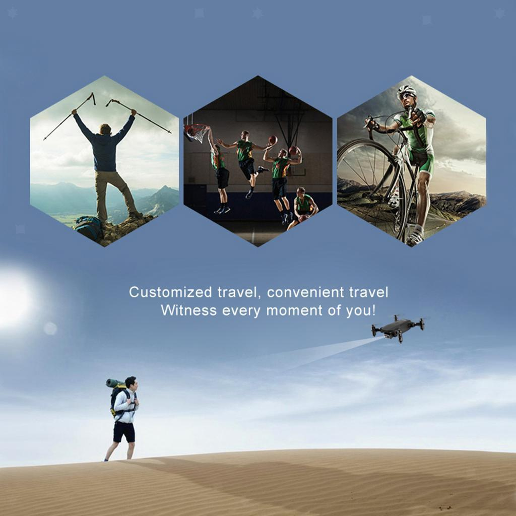 miniatura 56 - Mini Drone Una Chiave Headless Modalità di Mantenimento di Quota 6-Axis Gyro