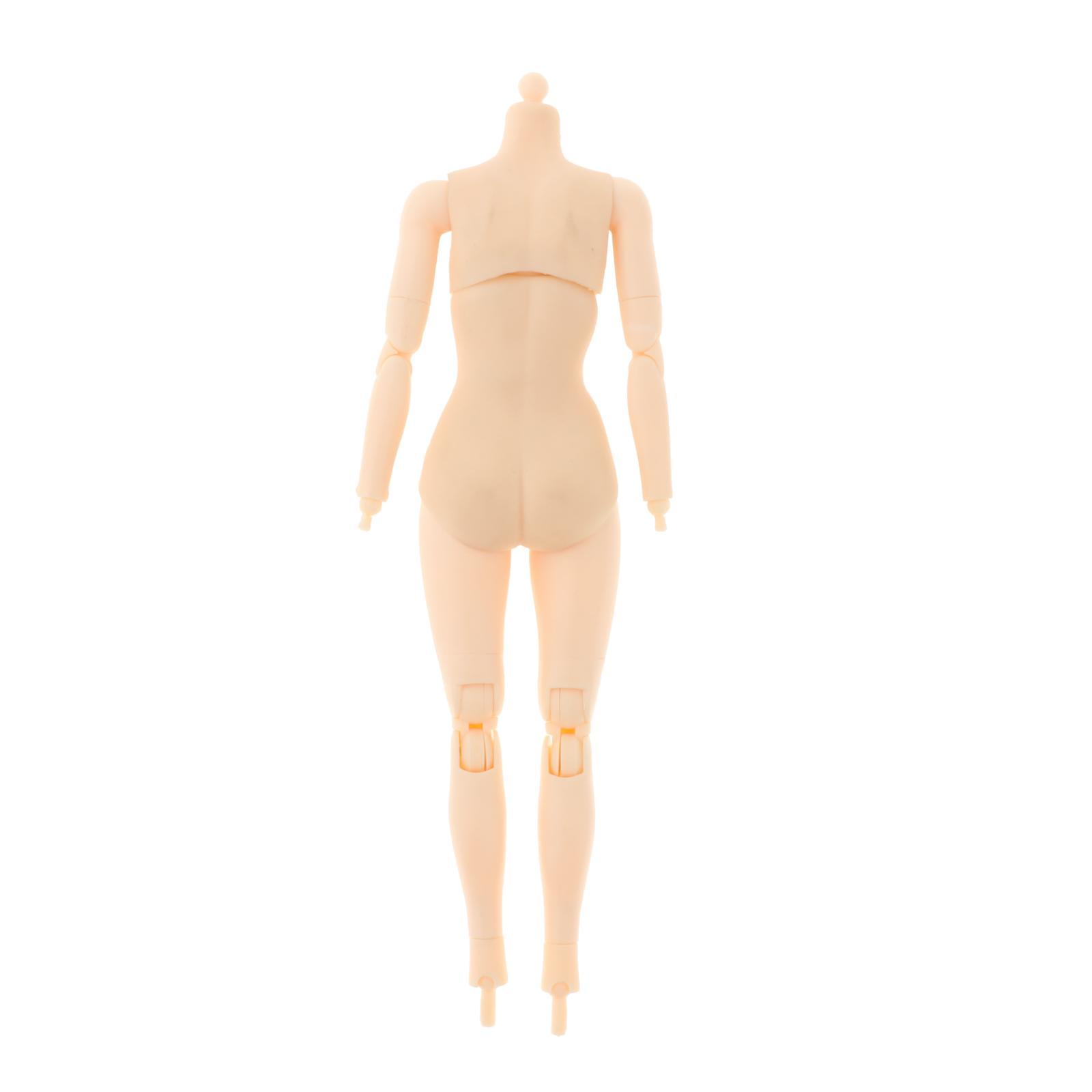 miniature 29 - 1/6 Scale Female Flexible Body 12 Inches Action Figure Body Seamless Figure