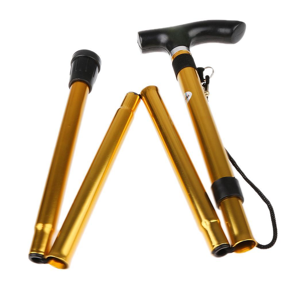 Batons-De-Marche-Telescopique-En-Aluminium-Pliable-Accessoire-Trekking-Randonnee miniature 12