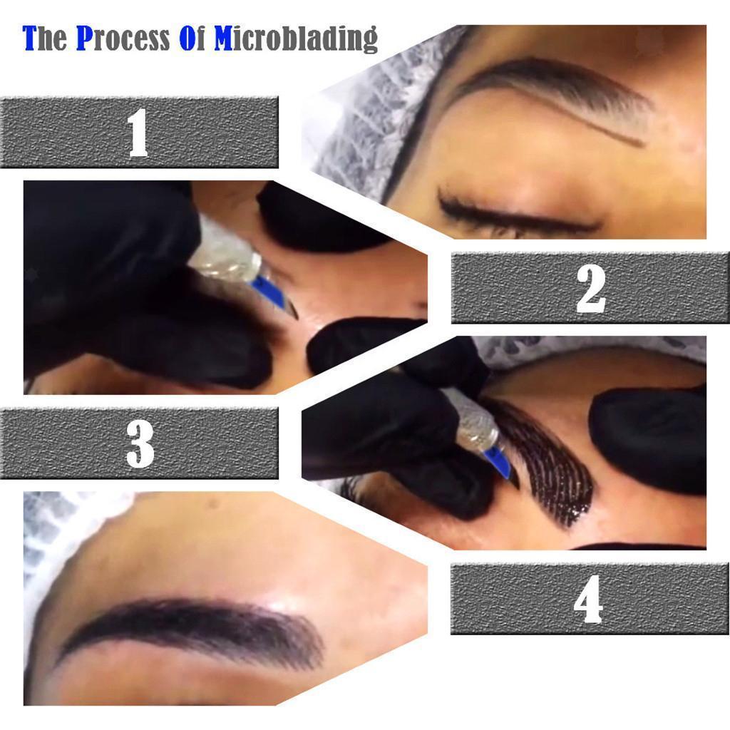 miniatura 3 - Set-di-kit-per-la-pelle-di-pratica-dell-039-inchiostro-della-penna-del-tatuaggio-del