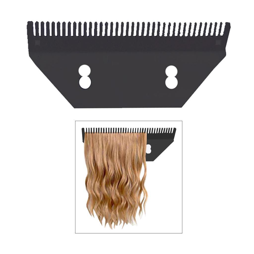 Extensions-de-cheveux-acryliques-Toupet-perruques-support-d-039-affichage-cintre miniature 13