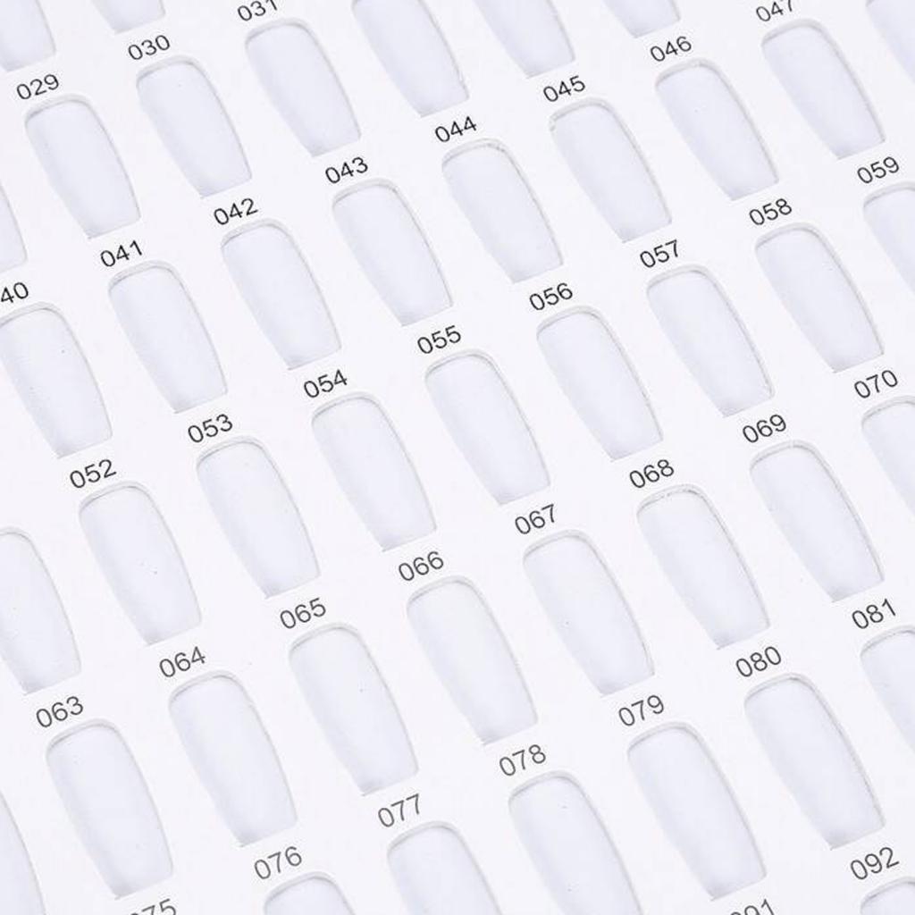 Manicure-di-Arte-Del-120-Smalto-Del-Gel-Carta-di-Colore-Grafico-di miniatura 29