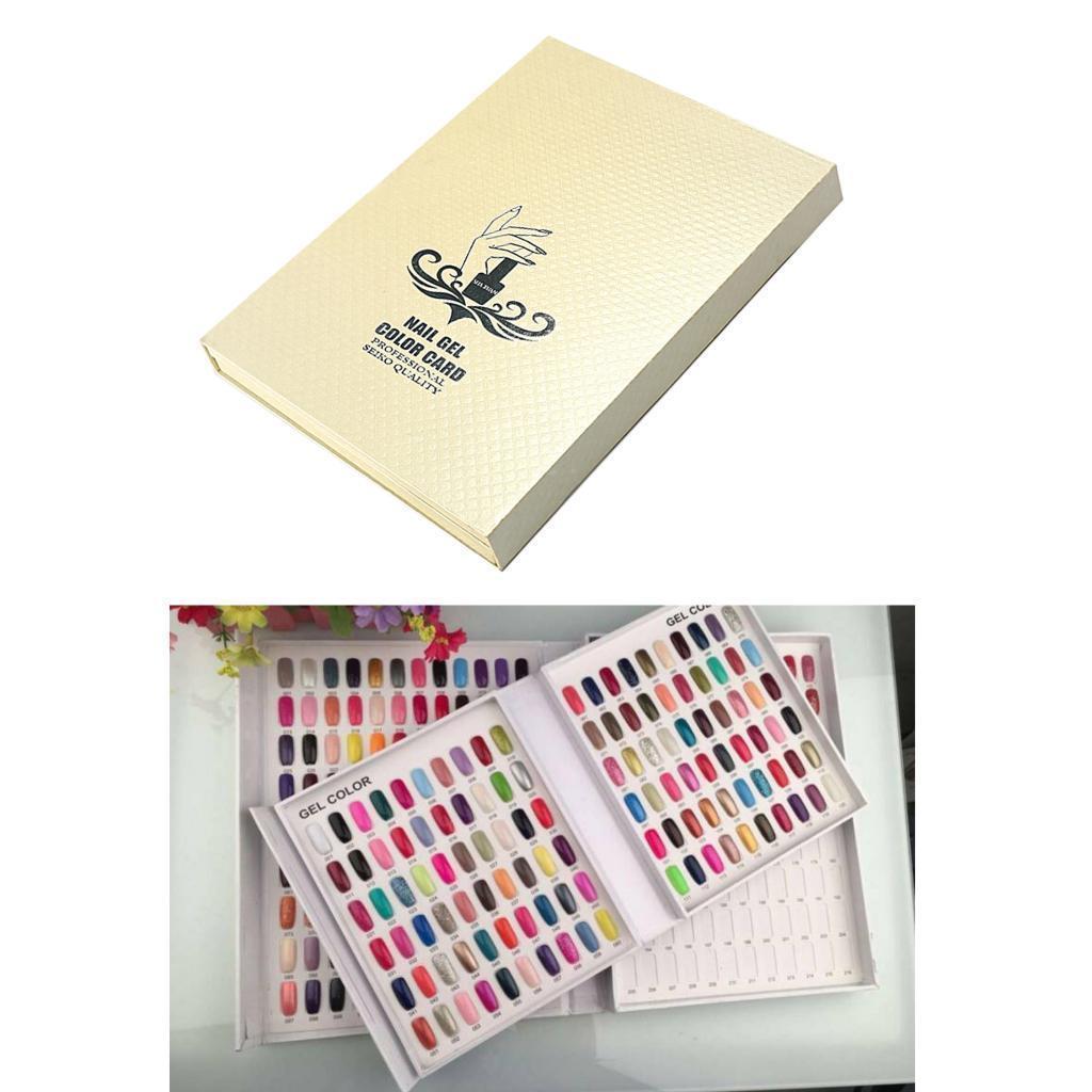 Manicure-di-Arte-Del-120-Smalto-Del-Gel-Carta-di-Colore-Grafico-di miniatura 24
