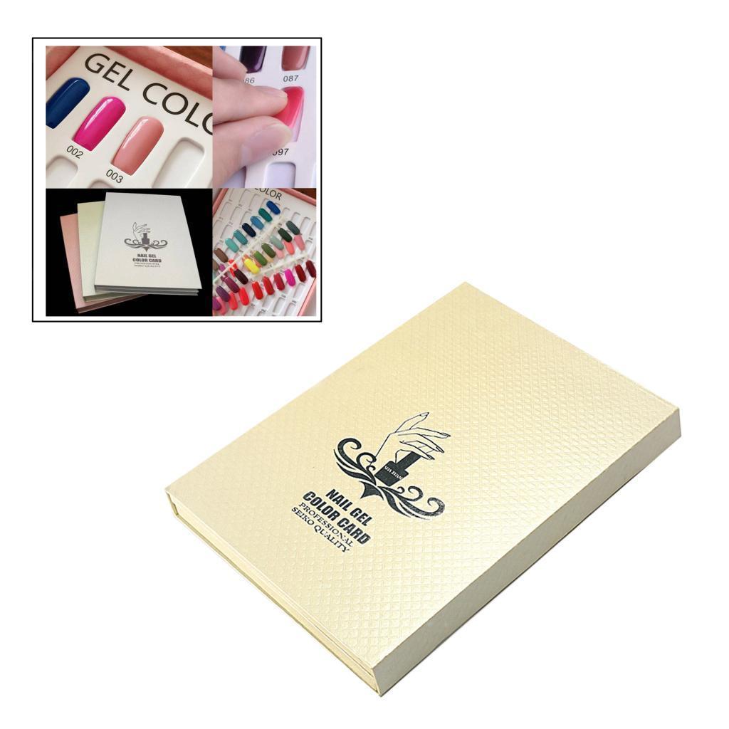 Manicure-di-Arte-Del-120-Smalto-Del-Gel-Carta-di-Colore-Grafico-di miniatura 26