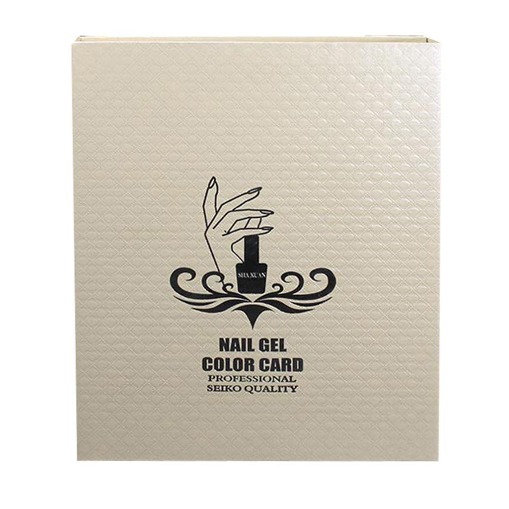Manicure-di-Arte-Del-120-Smalto-Del-Gel-Carta-di-Colore-Grafico-di miniatura 32