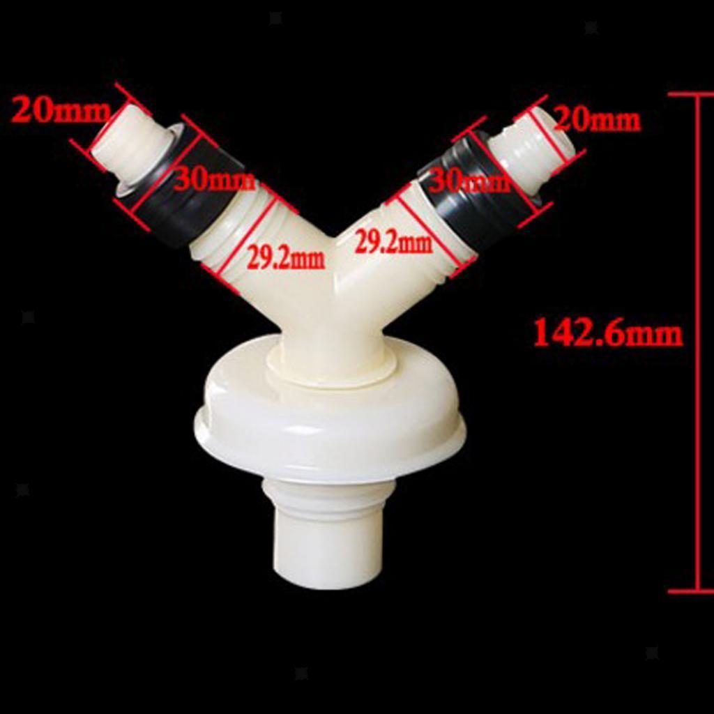 Kitchen Bathroom Floor Drain Hose Tap Connector Washing ...