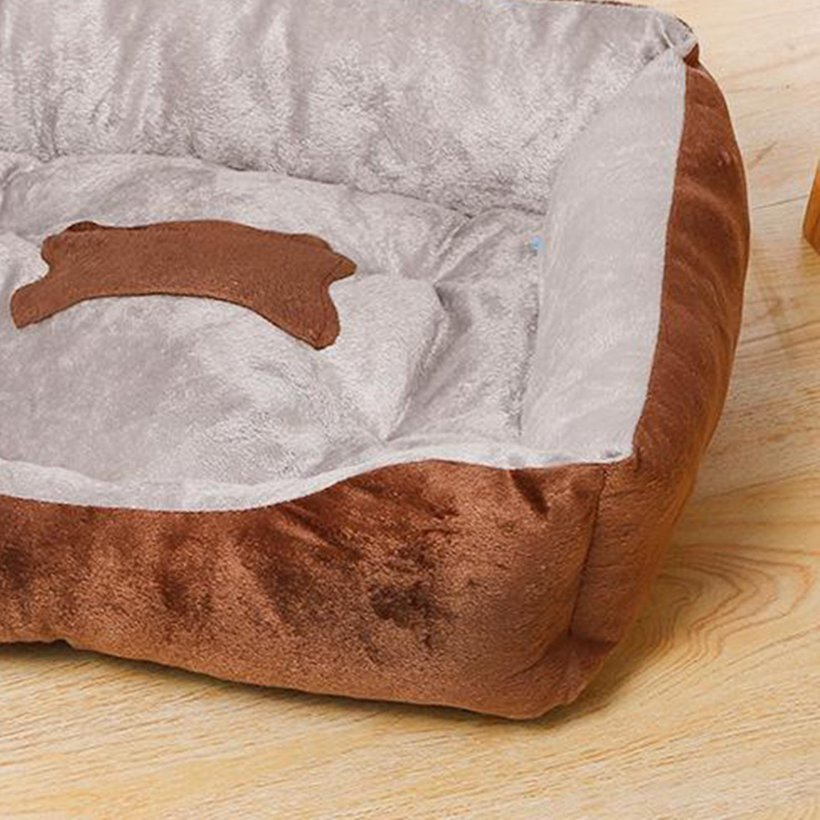 Indexbild 48 - Katze-Hund-Bett-Pet-Kissen-Betten-Haus-Schlaf-Soft-Warmen-Zwinger-Decke-Nest