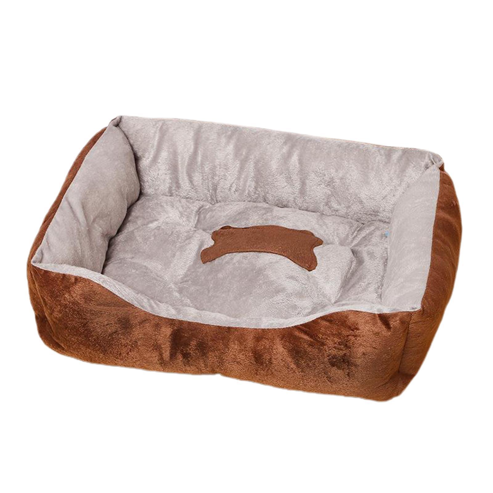 Indexbild 49 - Katze-Hund-Bett-Pet-Kissen-Betten-Haus-Schlaf-Soft-Warmen-Zwinger-Decke-Nest
