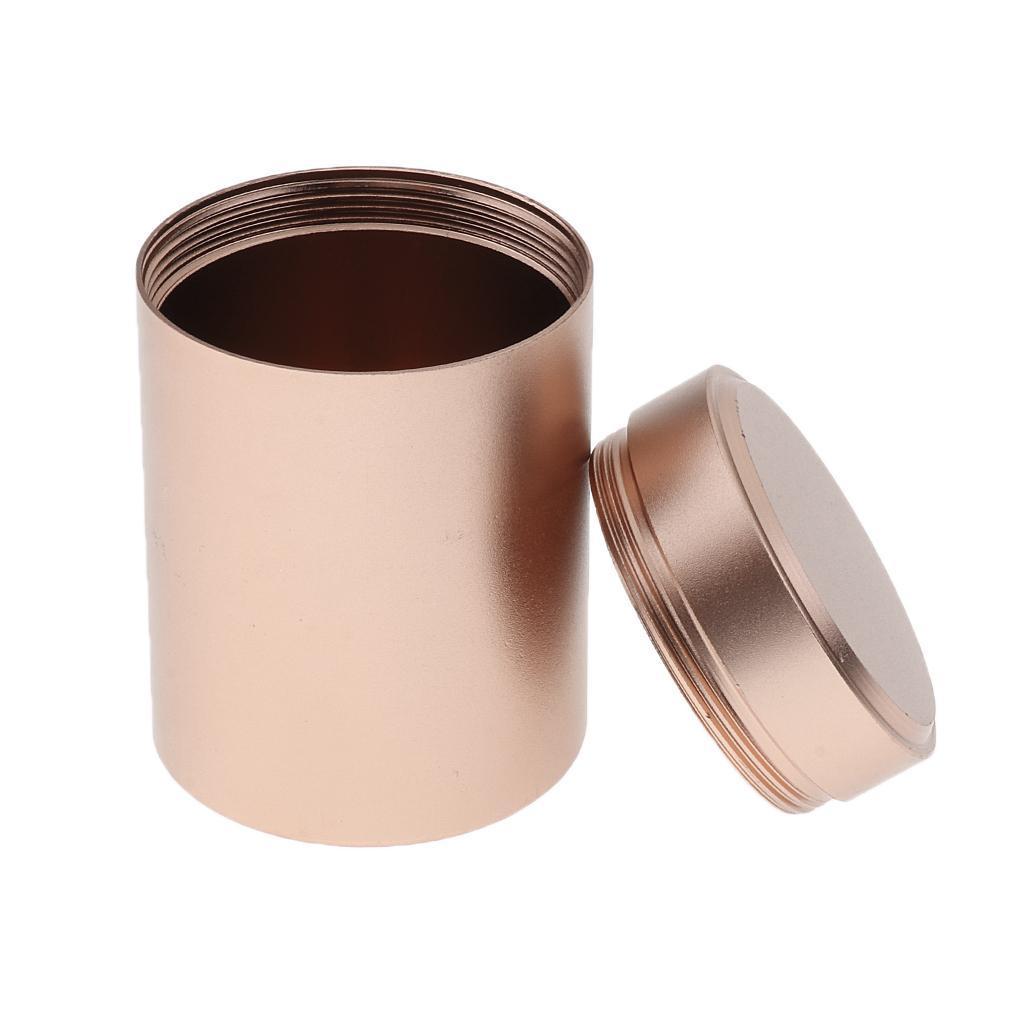Wasserdicht Kapsel Aluminium Outdoor Container Behälter Pillendose Pillenbox