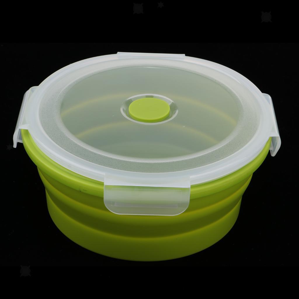 Bol-De-Camping-En-Silicone-Pliable-Qualite-Alimentaire-Et-Sans-BPA miniature 9