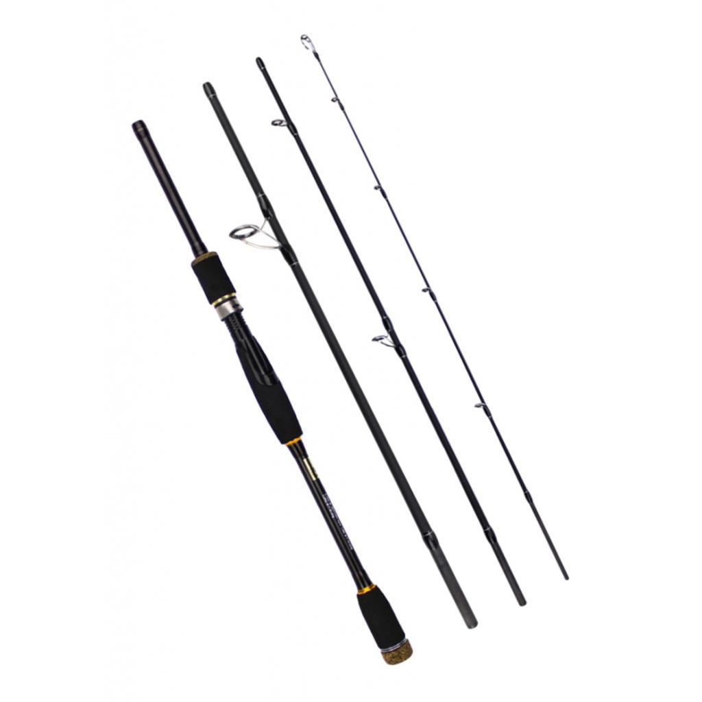 Reise-Bootsrute-Spinnrute-Fliegenrute-Angelrute-aus-Kohlefaser-mit-EVA-Griff Indexbild 17