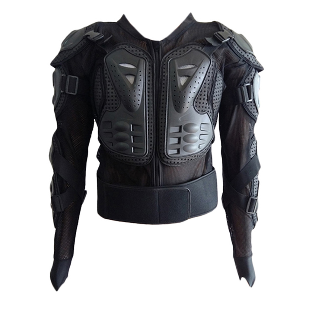 thumbnail 12 - Motorcycle-S-XXXL-Full-Body-Protection-Armor-Jacket-Racing-Spine-Chest-Gear