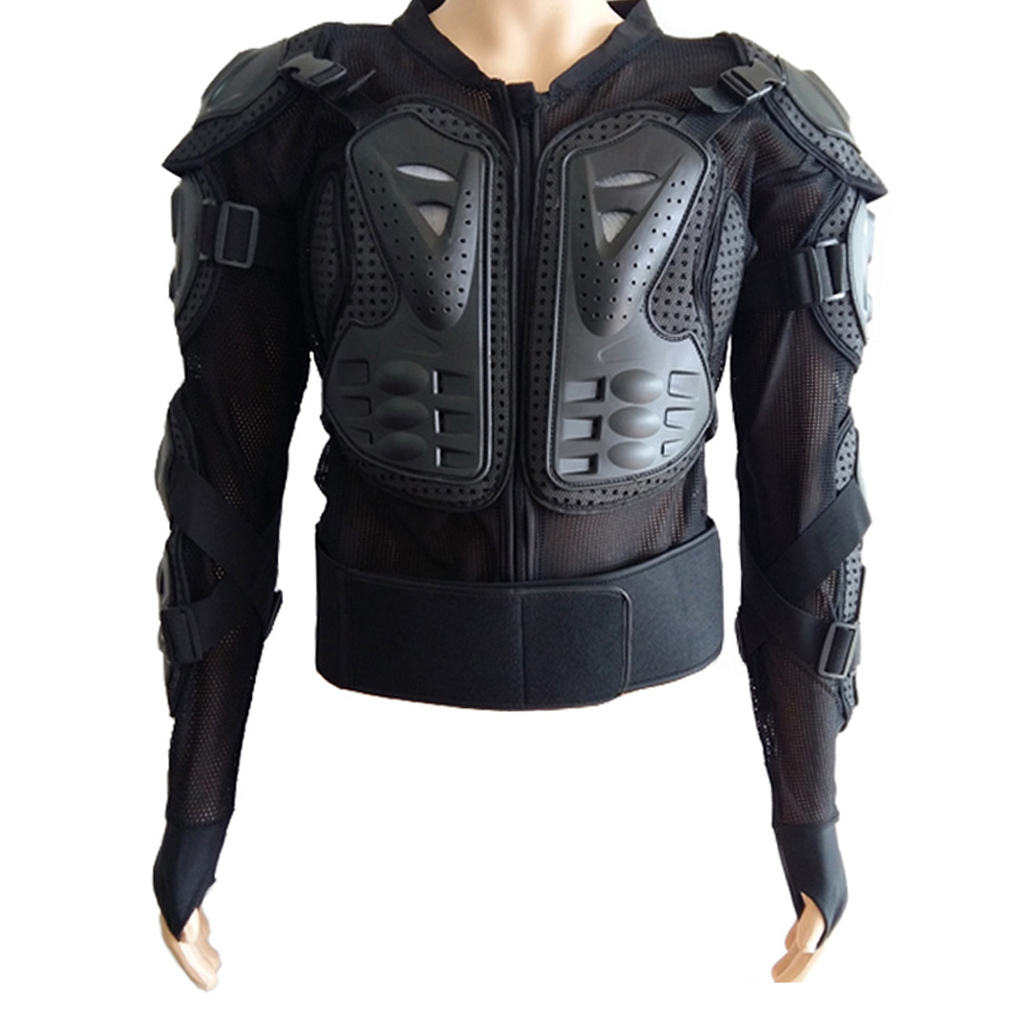 thumbnail 13 - Motorcycle-S-XXXL-Full-Body-Protection-Armor-Jacket-Racing-Spine-Chest-Gear