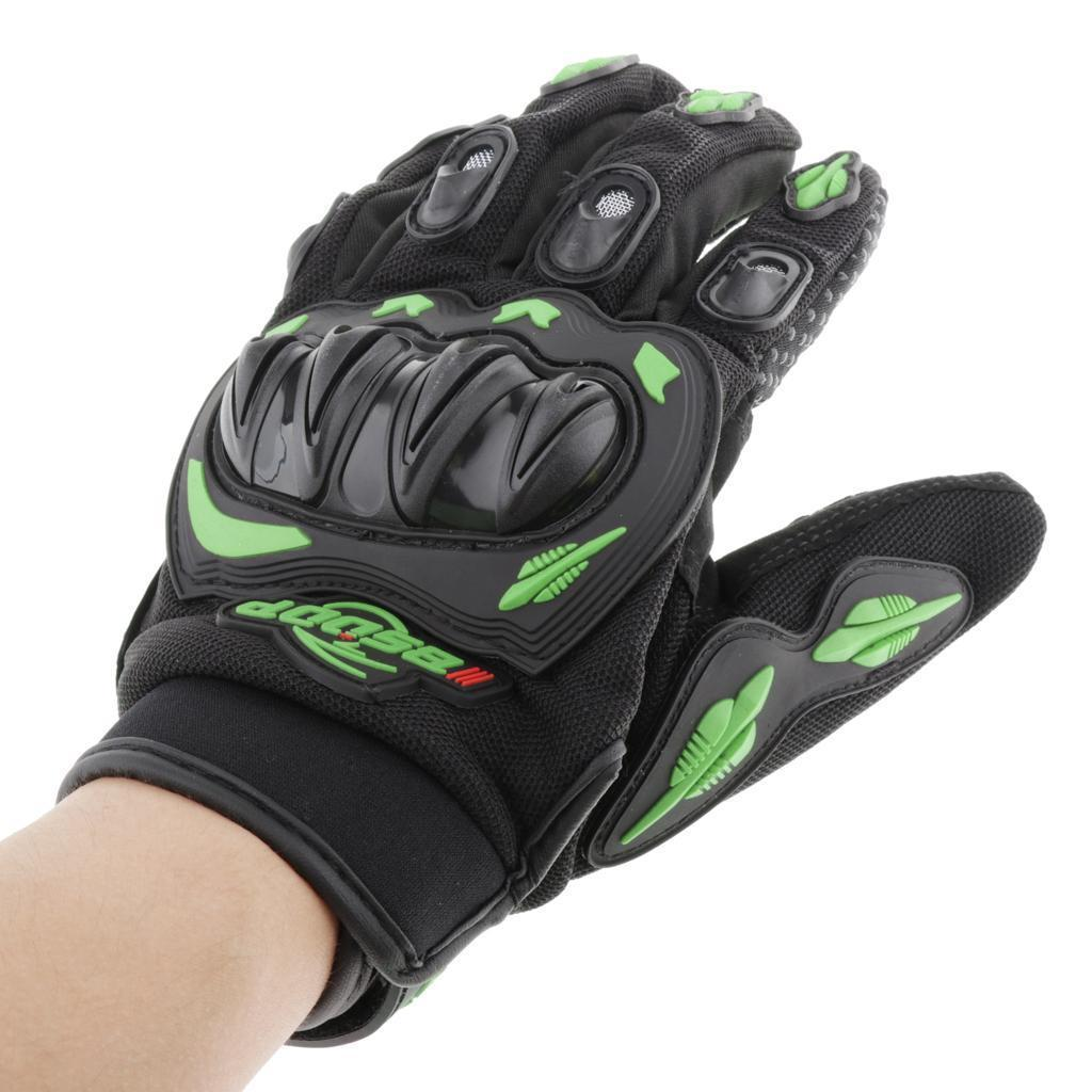 1Pair Motorcycle Full Finger Gloves Racing Waterproof Motorbike Protection