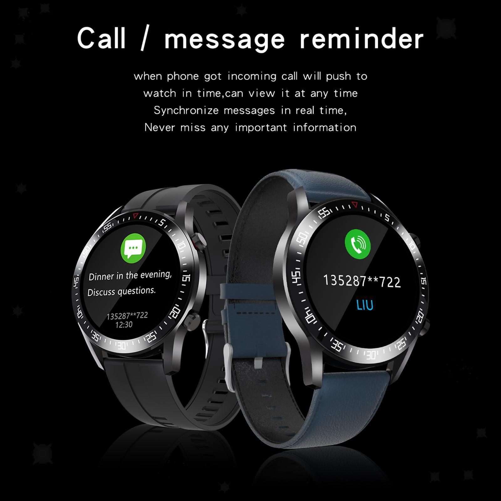 Uomini Smartwatch Modalità di Frequenza Cardiaca Monitor..