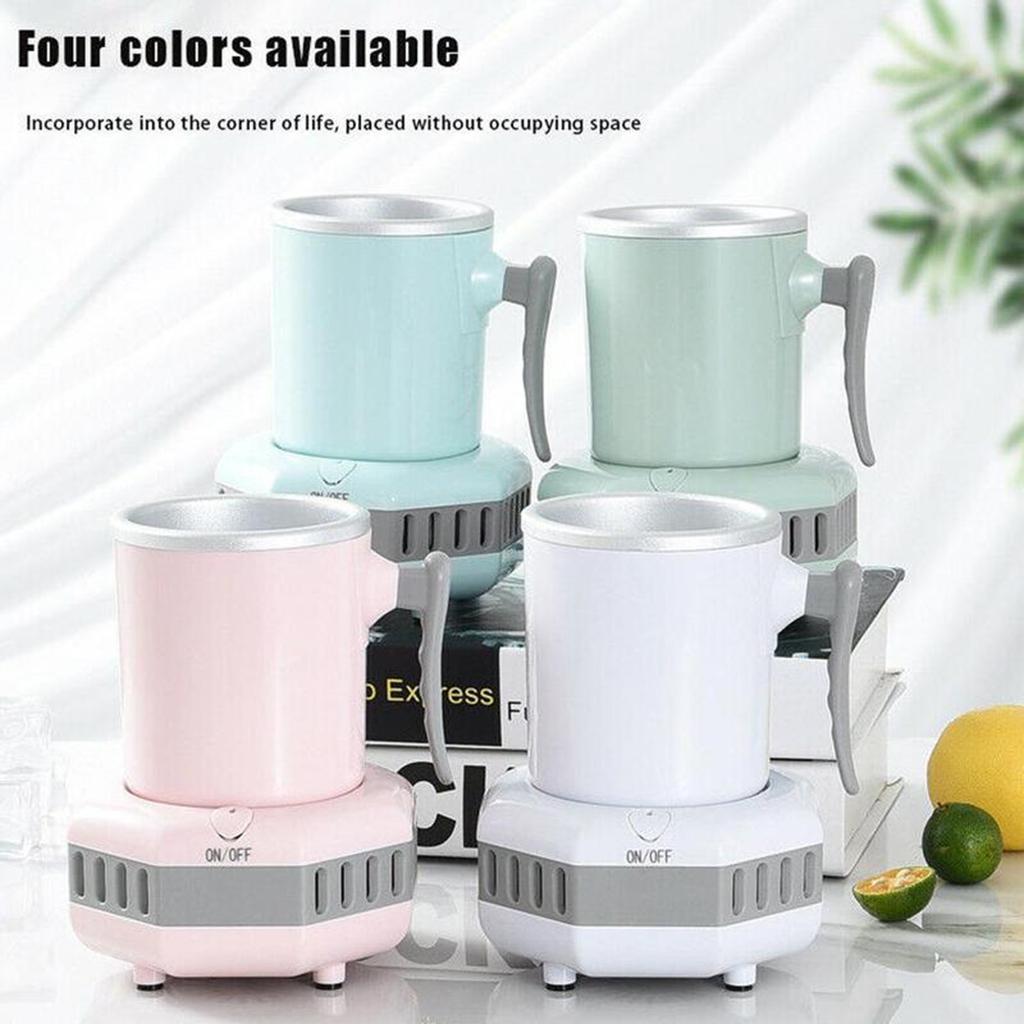 miniatura 20 - Mini Elettrica Macchina Per Macchina del Ghiaccio Mini Frigo per il Latte di