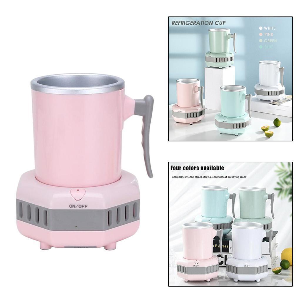 miniatura 22 - Mini Elettrica Macchina Per Macchina del Ghiaccio Mini Frigo per il Latte di
