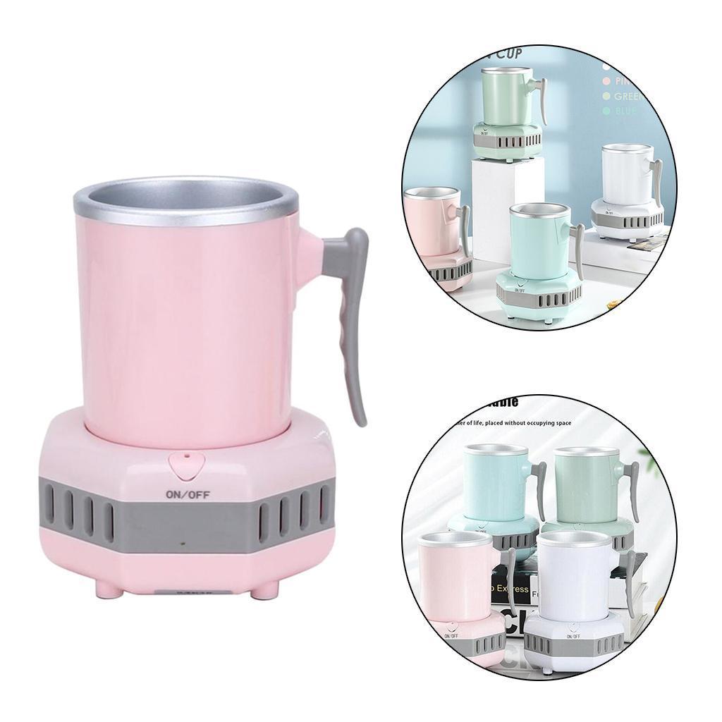 miniatura 23 - Mini Elettrica Macchina Per Macchina del Ghiaccio Mini Frigo per il Latte di