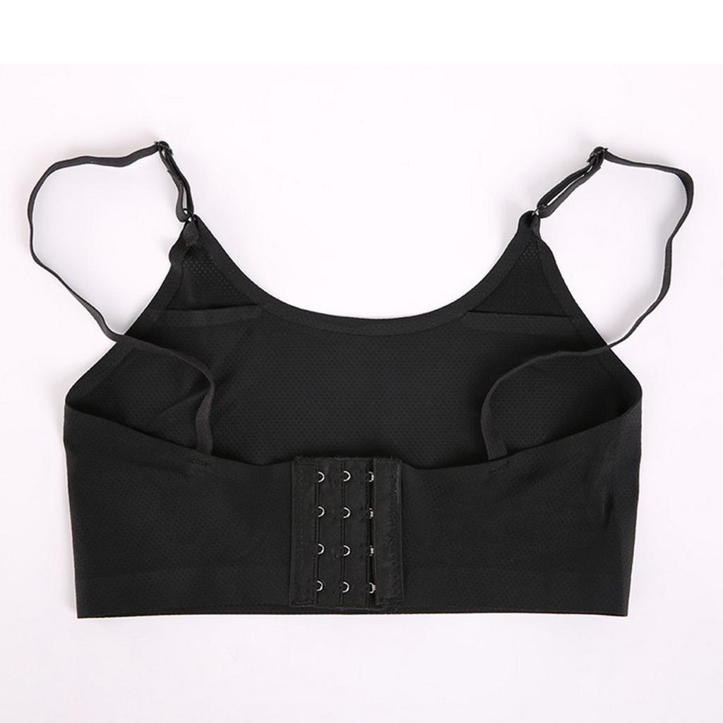 Insert Pocket Bra Silicone Boob Form Fake Breast -7965
