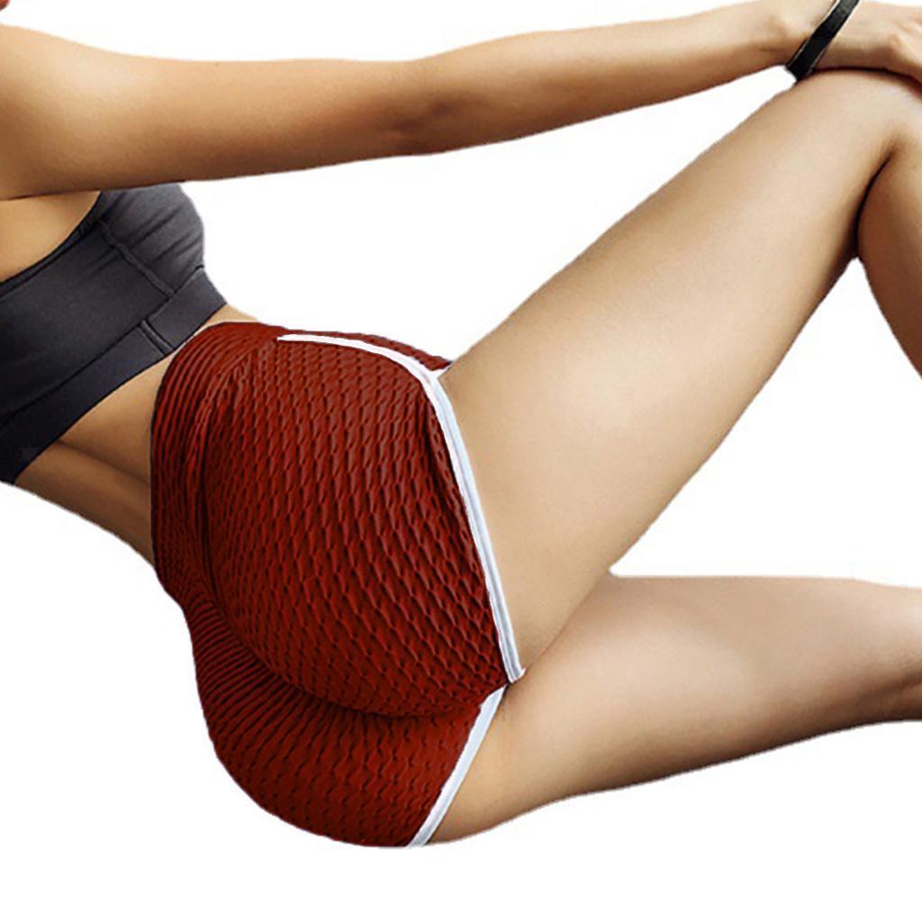 miniature 103 - Pantalons chauds femmes taille haute shorts de yoga fesses de levage Scrunch