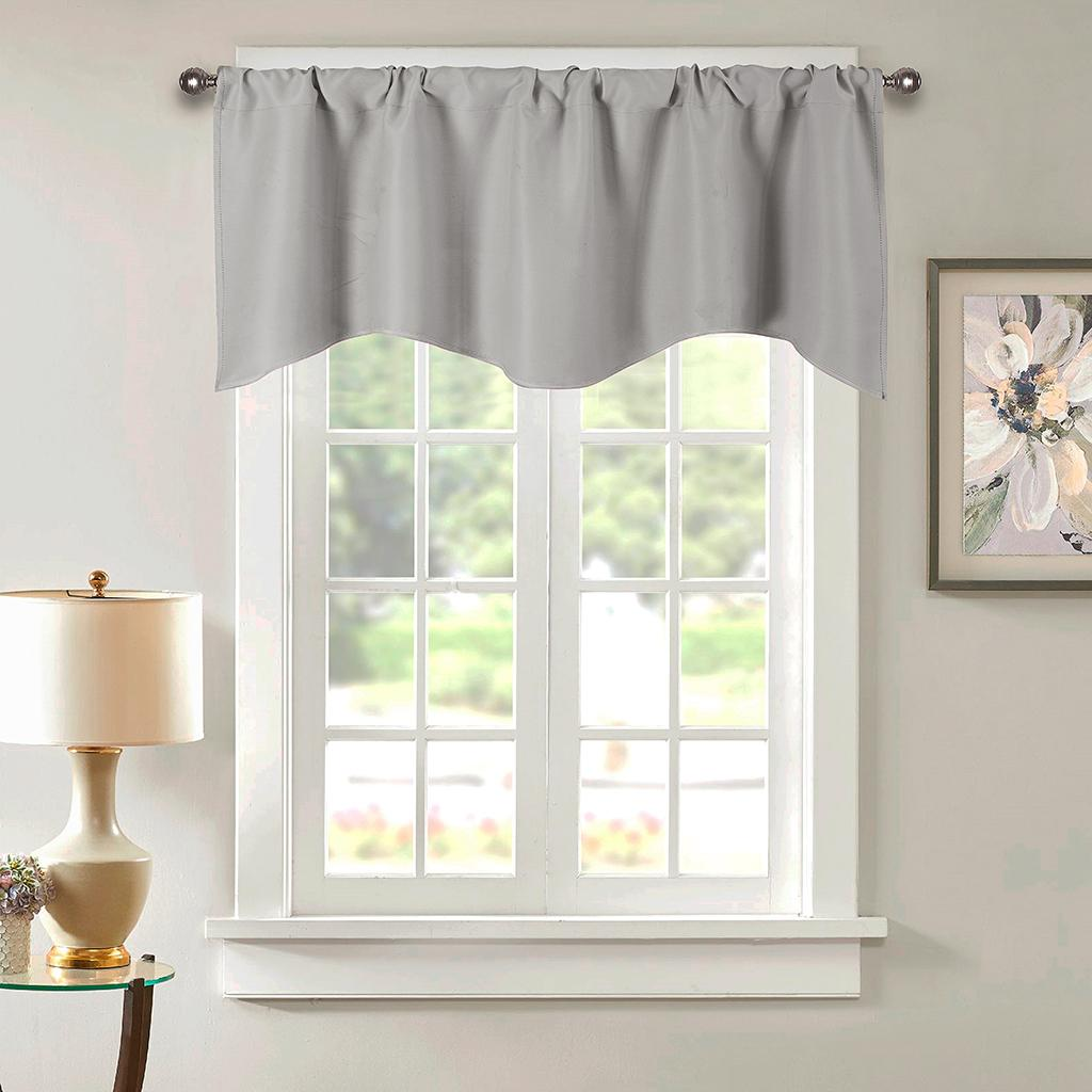 Cafe Curtain Privacy Kitchen Small Window Valance For Bathroom Basement Ebay
