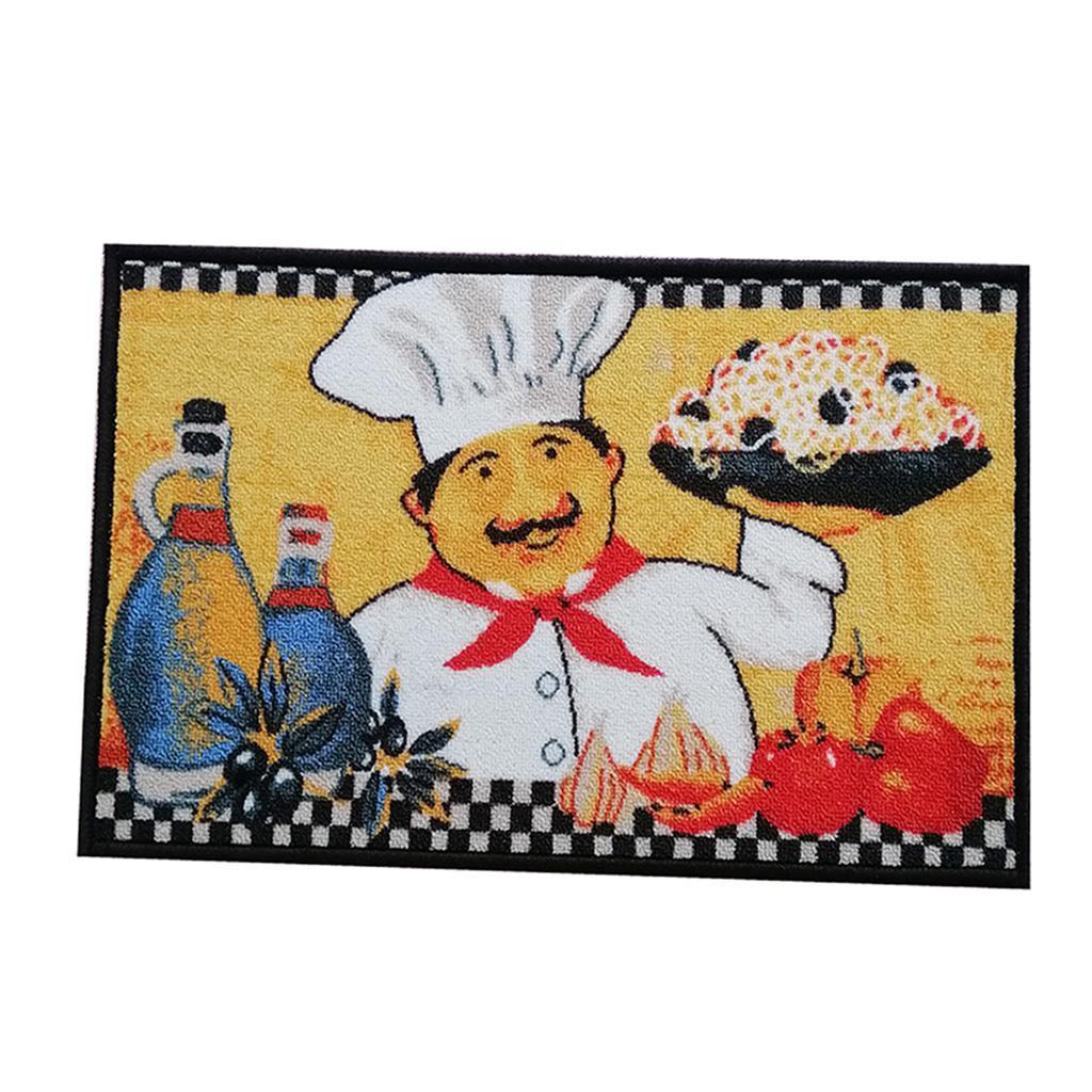 Chef-Di-Cucina-Zona-Tappeto-Soggiorno-Camera-Da-Letto-Piano-Mat-Tappeto miniatura 3