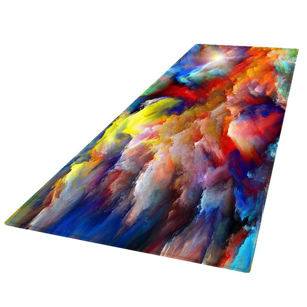 Digitale-Stampata-3D-Tappetino-Runner-Antiscivolo-Area-Rug-Carpet miniatura 24