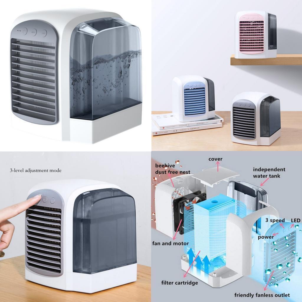 miniature 29 - Ventilateur-de-refroidissement-par-eau-de-refroidisseur-de-climatiseur-de