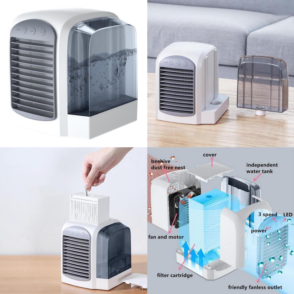 miniature 30 - Ventilateur-de-refroidissement-par-eau-de-refroidisseur-de-climatiseur-de
