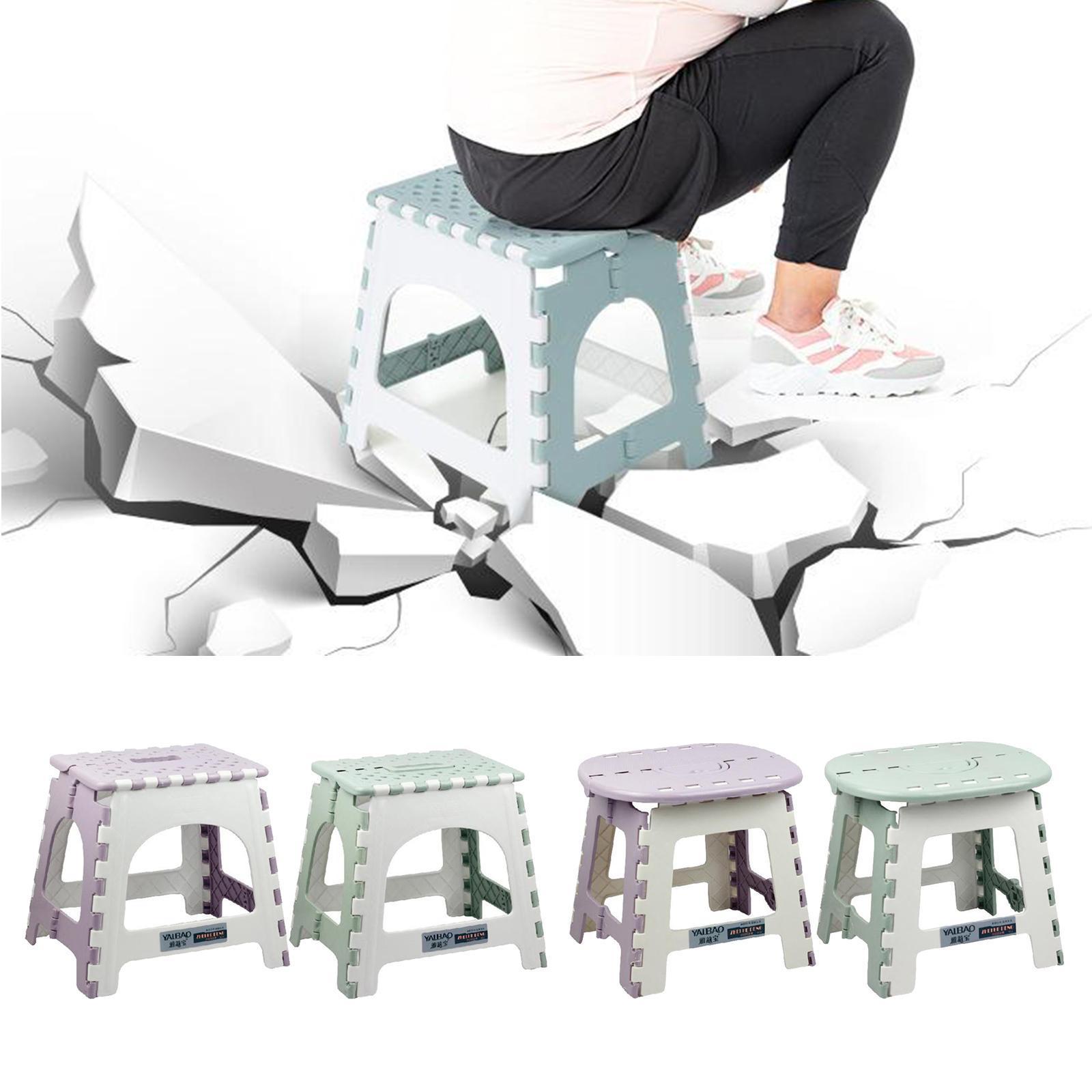 Cargas pesadas plegable taburete se produce plástico fußleiter para niños adultos casa