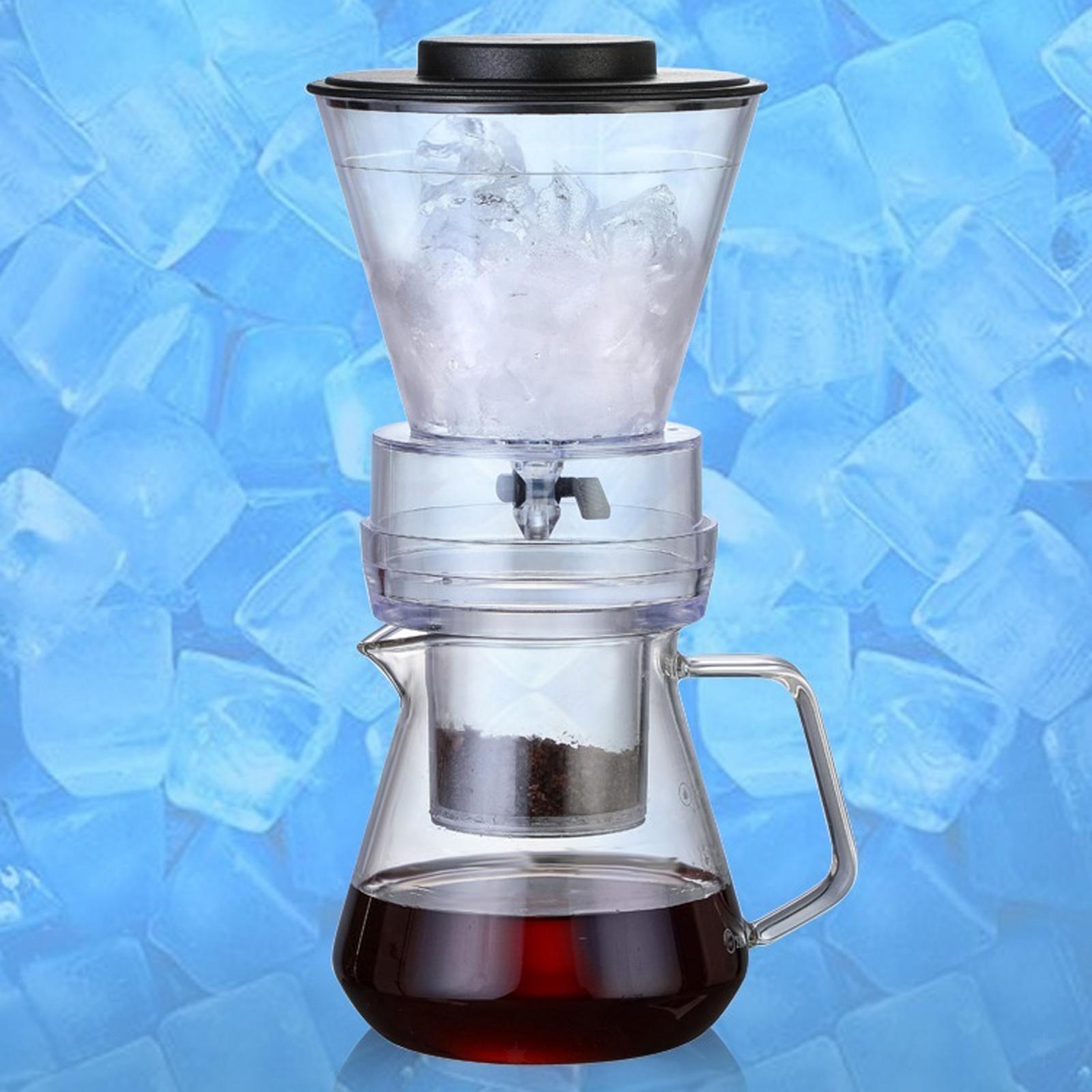 miniatura 22 - Ghiaccio macchina per il Caffè Caffè Pentola di Caffè Dripper Versare Sopra