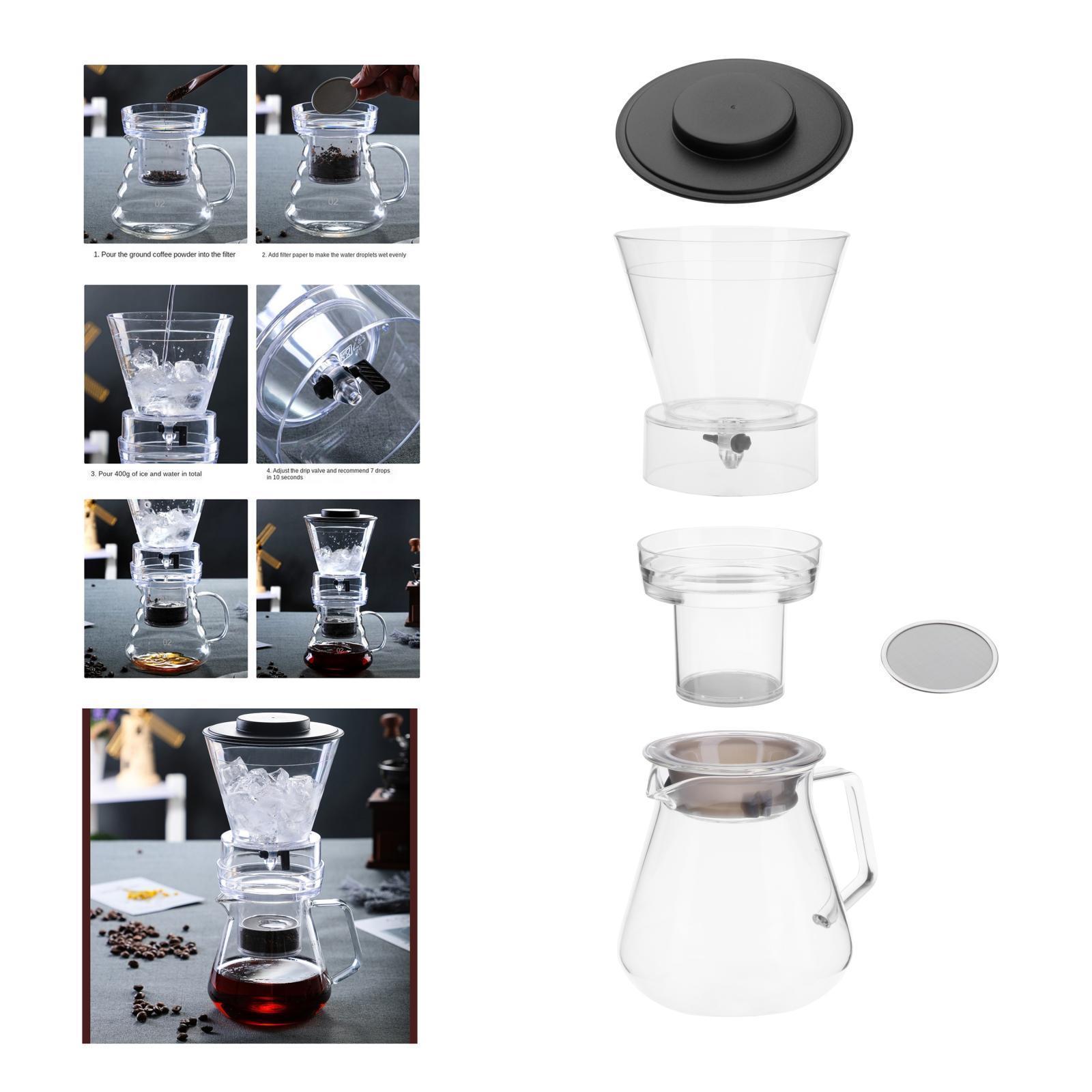 miniatura 25 - Ghiaccio macchina per il Caffè Caffè Dripper Pot w/Filtro & Maniglia