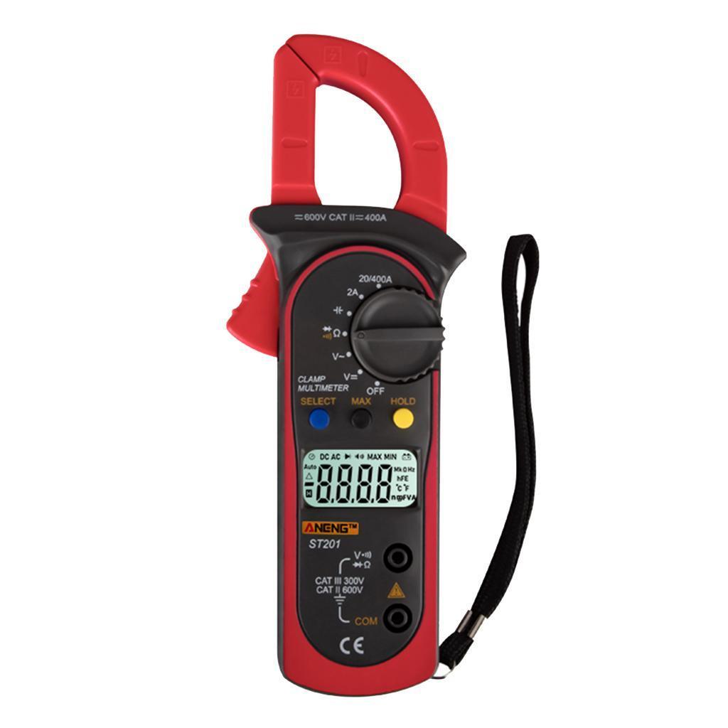 ST201-Pince-Multimetre-Numerique-Comptage-Multimetre-Manuel-amp-Automatique-de miniature 4