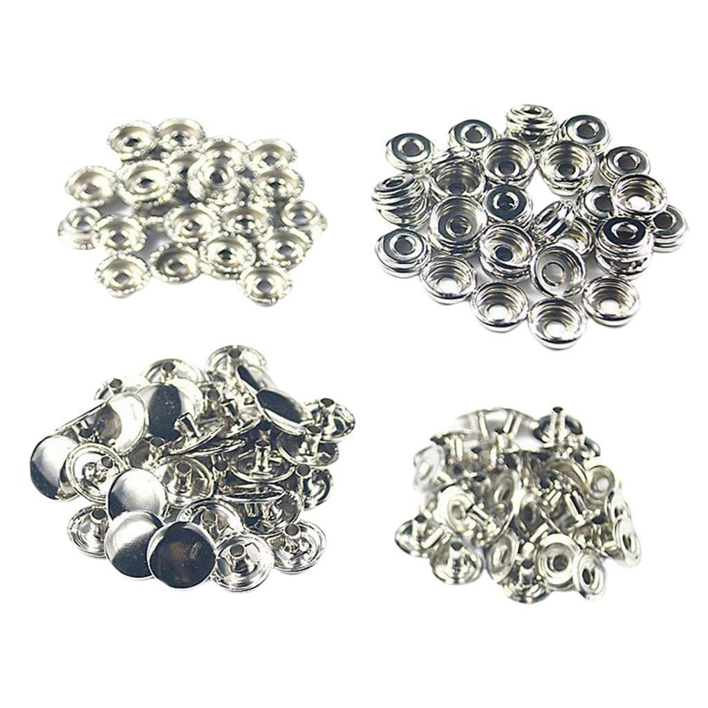 50Pack-Snap-Fasteners-Press-Stud-Button-Leather-Down-Bag-Clouses-Fixing thumbnail 13