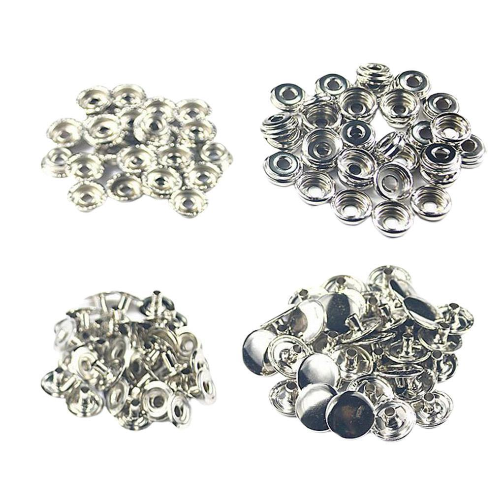 50Pack-Snap-Fasteners-Press-Stud-Button-Leather-Down-Bag-Clouses-Fixing thumbnail 14