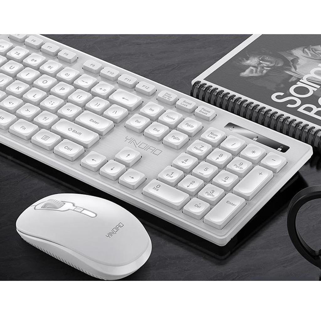 miniature 21 - Ensemble de souris clavier pleine grandeur avec récepteur USB pour ordinateur