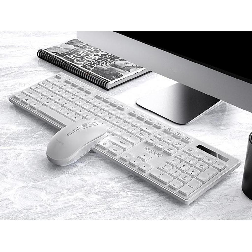 miniature 18 - Ensemble de souris clavier pleine grandeur avec récepteur USB pour ordinateur