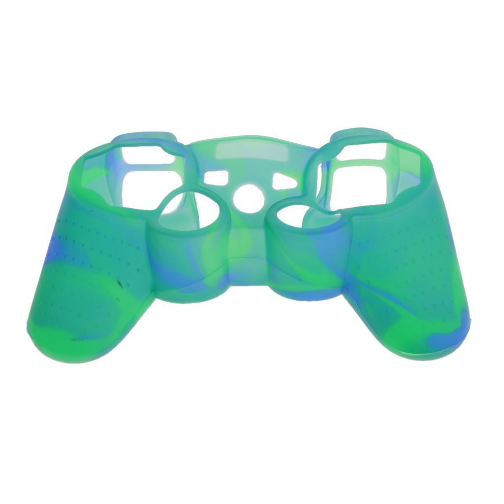 Silicone Protective Skin Case Cover Guard for Sony PS2 PS3