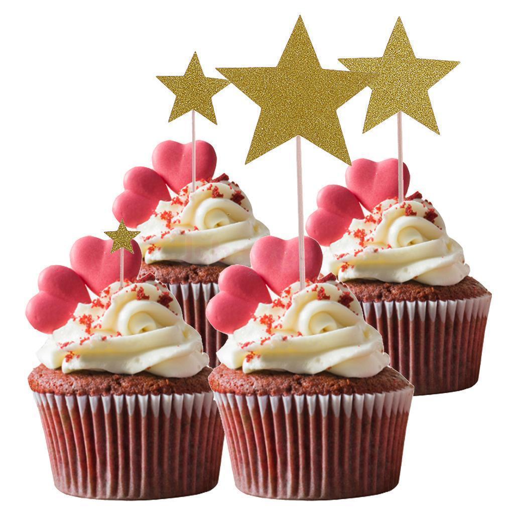 4-10pcs-DIY-Birthday-Cake-Cupcake-Toppers-Food-Picks-Baby-Shower-Party-Decor thumbnail 24