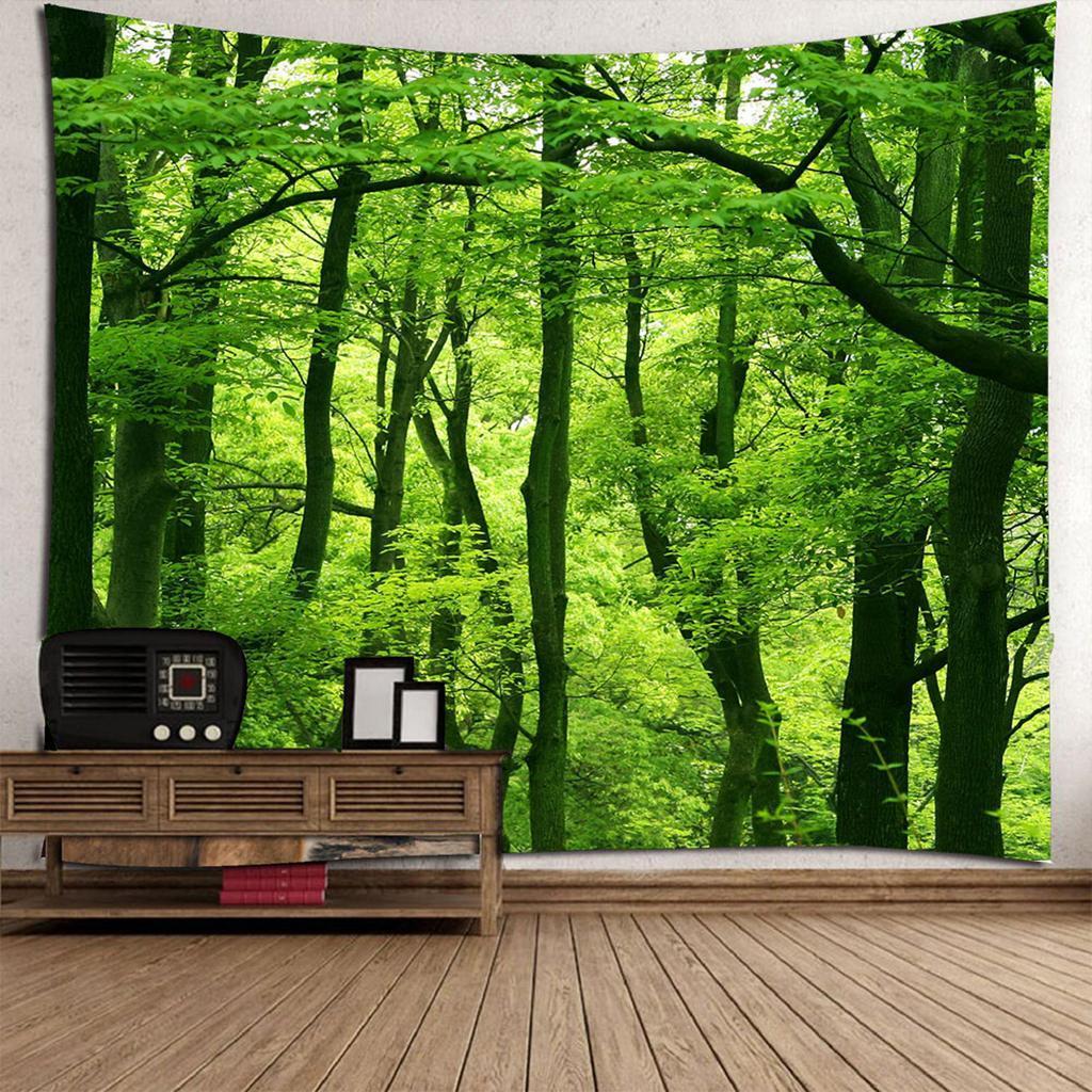 3D-Arazzo-Parete-Impermeabile-Decorativi-Interni-Esterni-Telo-Mare-Poliestere miniatura 23