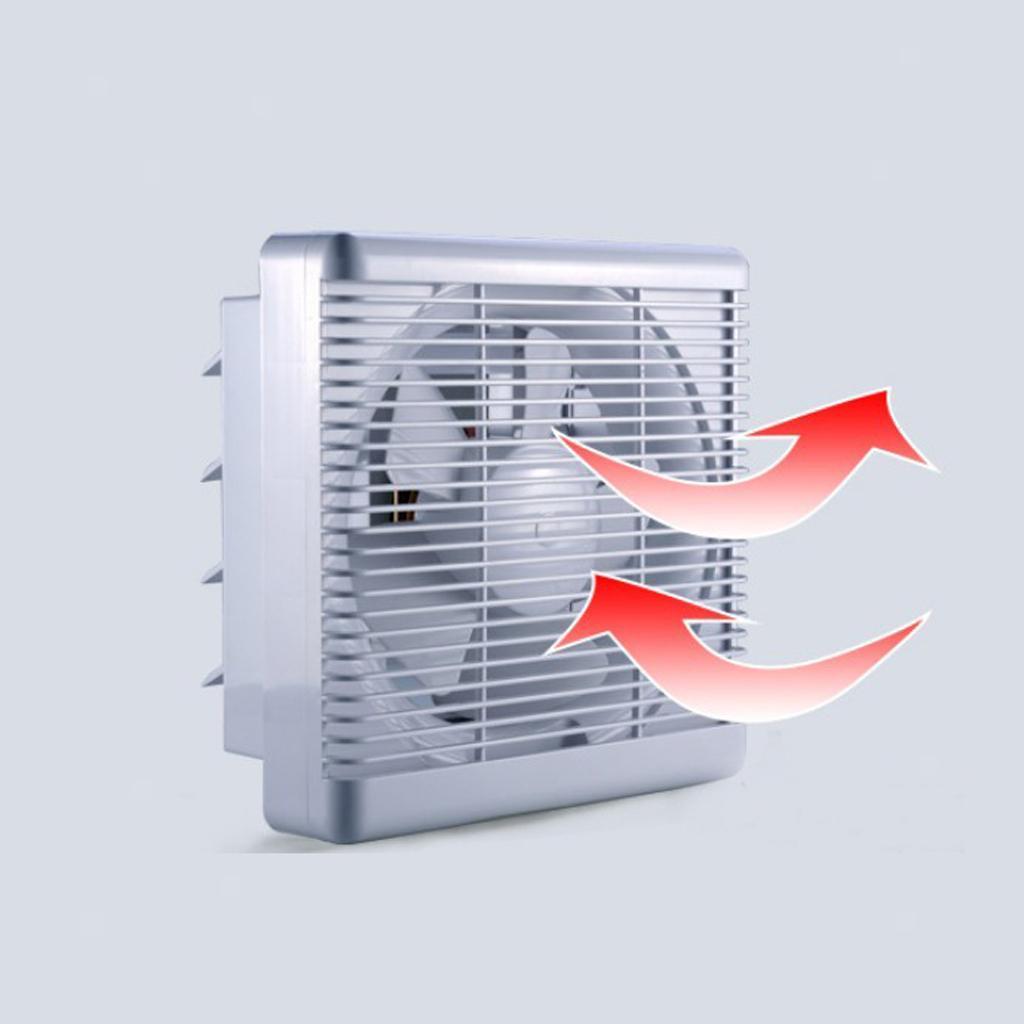 Ultra-Quiet Bathroom Kitchen Ventilation Extractor Exhaust ...