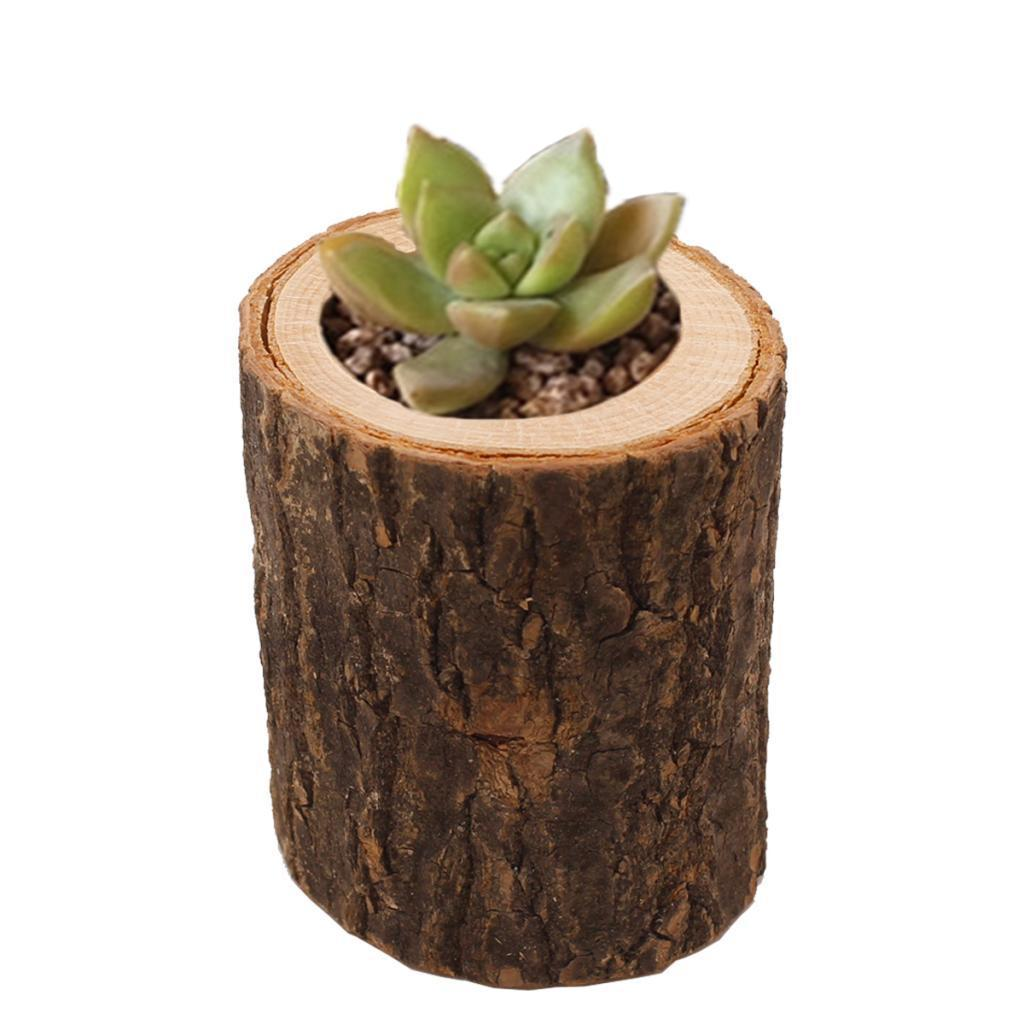 Wooden-Smooth-Candlestick-Tree-Stump-Candle-Stand-Lamp-Holder-for-Home-Room-Deco thumbnail 9